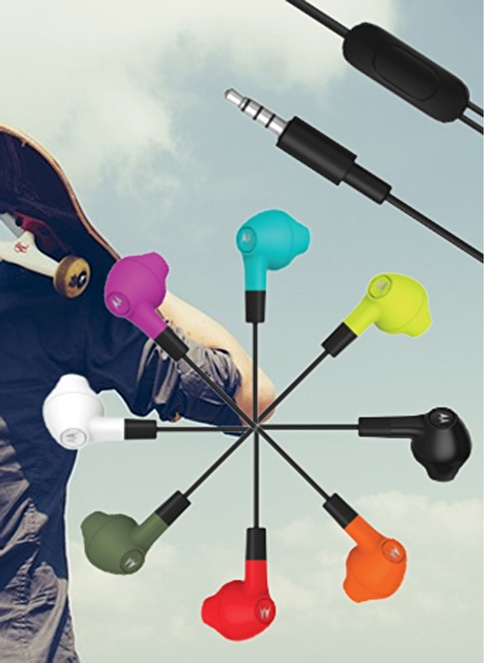 Motorola Earbuds Mikrofonlu Kulaklık Beyaz